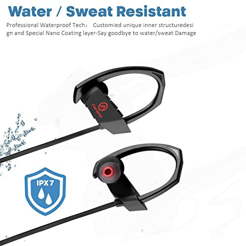 forone bluetooth earbuds ipx6 waterproof wireless sport import it all. Black Bedroom Furniture Sets. Home Design Ideas