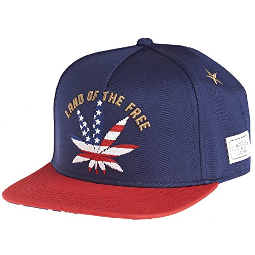 of Cap and Land Cayler the Sons Red Navy Free Gold q6t7p