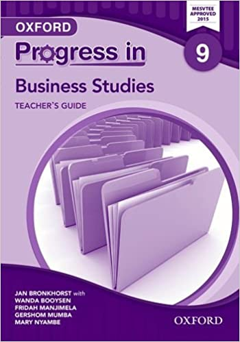 Buy Progress In Business Studies Zambia Grade 9