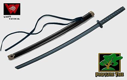 BladesUSA 1808D Samurai Wooden Training Sword 30-Inch Wakizashi