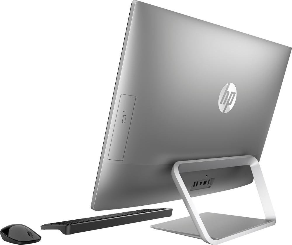 HP Pavilion 24-B214 23.8'' Touch-Screen All-In-One Computer Intel Core i5 2.4GHz 12GB Memory 2TB Hard Drive (Silver) by HP (Image #4)