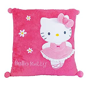 Hello Kitty Cojín bailarina, color rosa (Giros AB711392)