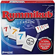 Rummikub by Pressman - Classic Edition - The Original Rummy Tile Game, Blue