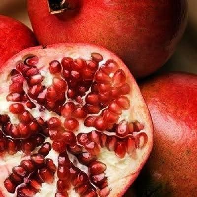 25 POMEGRANATE FRUIT TREE Punica Granatum Red Seeds : Garden & Outdoor