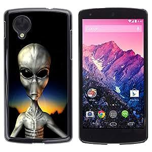 - Skull Devil Diablo Extraterrestrial - - Fashion Dream Catcher Design Hard Plastic Protective Case Cover FOR LG Nexus 5 D820 D821 Retro Candy