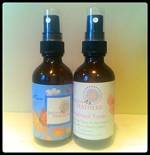 Pure Floral Hydrosol Gift Set Rose Water Neroli Mist with Free Gift Bag ()