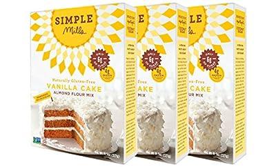 Simple Mills Vanilla Cake Mix, 11.5 Ounce