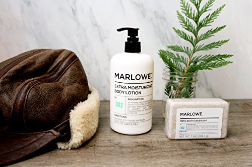 MARLOWE. 002 Extra Moisturizing Body Lotion 15 oz | Daily Lotion for Dry Skin for Men and Women | Light Fresh Scent | Made with Natural Ingredients | Vegan & Cruelty-Free by Marlowe (Image #5)