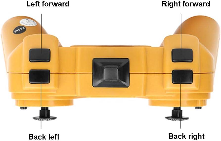 Dittzz Ferngesteuerter Bagger Professioneller 1:14 2,4Ghz RC Bagger Spielzeug mit 22 Kan/älen Volle Funktion