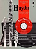 Haydn Four London Trios For 2 Flutes And Violoncello Hobiv1-4 Book And CD (Music Minus One (Numbered))