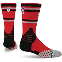 Stance NBA On Court Core Crew Raptors Socks in Red