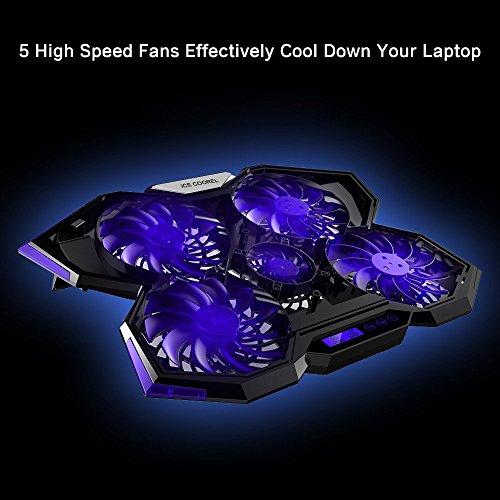 Laptop Cooling Pad Nobebird Laptop Cooler With 5 Quiet
