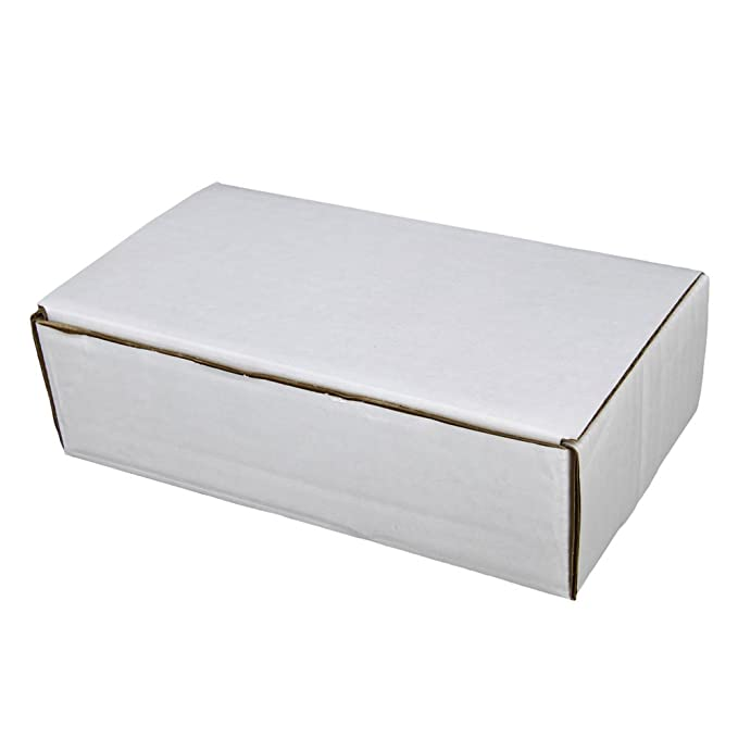 50-7x4x2 White Corrugated Shipping Mailer Packing Box Boxes