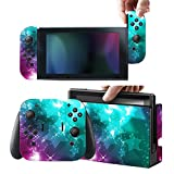Protective Skins Stickers Cover for Nintendo Switch Console and Gray(Red, Blue)Joy con – Vinyl Decals Protector Set for Switch – Stars For Sale