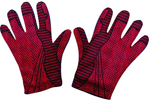 (Rubie's Costume Men's The Amazing Spider-Man Adult Gloves, Red, One Size )