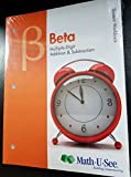 img - for Beta Student Workbook Multiple-Digit Addition and Subtraction book / textbook / text book