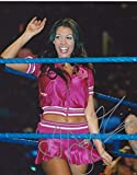 Joy Giovanni Signed WWE 8x10 Photo - Autographed Wrestling Photos