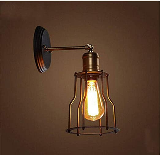 Applique Da Parete Retro Stile Edison Mini Per La Testata Della Camera Da Letto Garage Garage Barn Door Porch Lights Amazon It Illuminazione