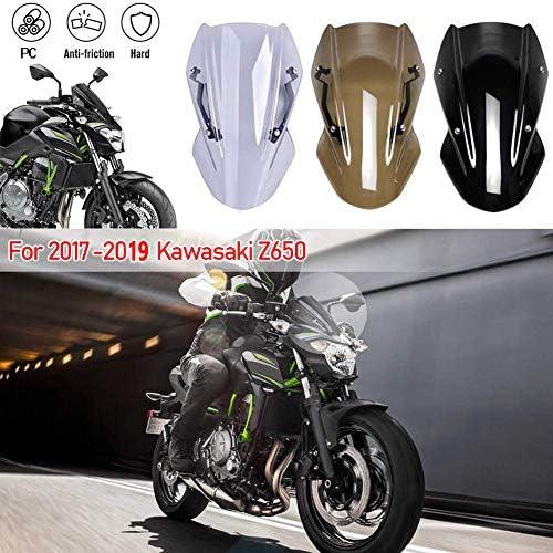 Motorcycle Double Line Windscreen Windshield Screen Bracket for Kawasaki Z650 Z