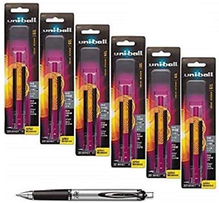 Uni-Ball Signo UMN-207F 0.7 mm Negro Bolígrafo retráctil Gel X 12 piezas de gastos de envío gratis