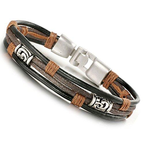 Jstyle Jewelry Leather Bracelets Bracelet