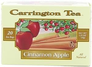 Carrington Tea, Cinnamon Apple, 20 Tea Bags (Pack of 6)