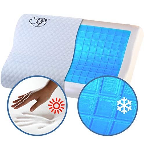 Save&Soft Gel Memory Foam Pillow - Doctor Recom...
