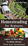 Homesteading For Beginners: Learn 15 Best Ways To Make Money  From Your Homestead: (How to Build a Backyard Farm, Mini Farming Self-Sufficiency On 1/ 4 ... farming, How to build a chicken coop,)