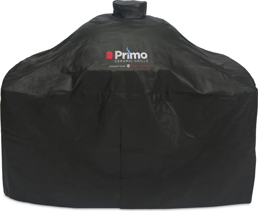 Grill Cover for Oval XL 400 LG 300 and Jack Daniel's Grills with Island Tops