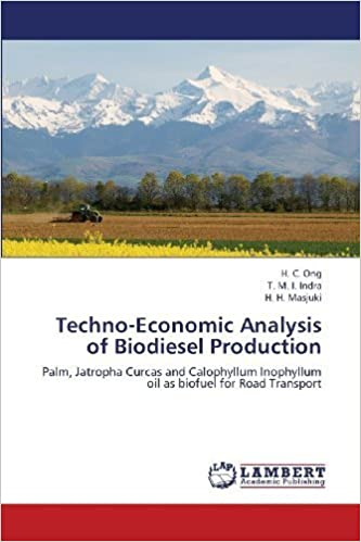 Book Techno-Economic Analysis of Biodiesel Production: Palm, Jatropha Curcas and Calophyllum Inophyllum oil as biofuel for Road Transport by Ong, H. C., Indra, T. M. I., Masjuki, H. H. (2013)