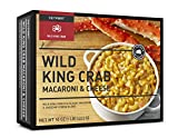 Keyport Seafood Macaroni & Cheese Variety Pack of 8 Meals - Two each of King Crab, Salmon, Lobster, and Shrimp & Scallop Mac and Cheeses