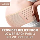 AZMED Maternity Belt, Breathable Pregnancy Back