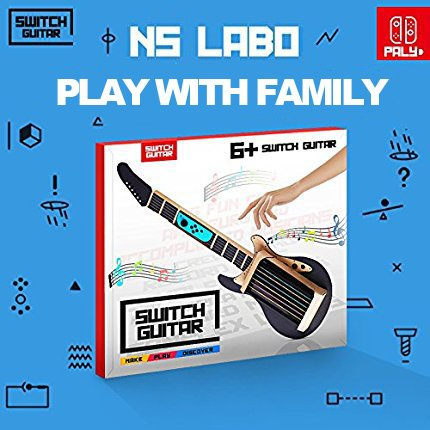 Cardboard Guitar for Nintendo Switch Accessories Variety Kit,Guitar for Toy-Con Garage [video game]