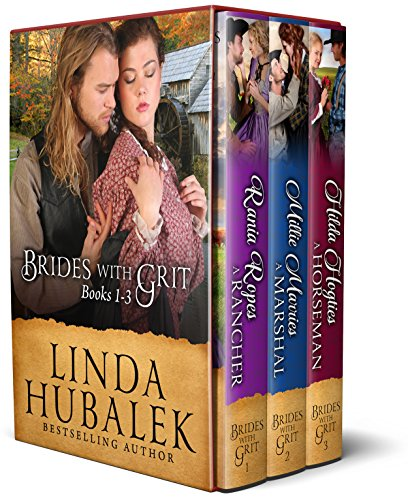 Brides with Grit Series, Books 1-3 cover