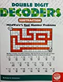 MindWare - Double Digit Decoders: Subtraction - 30 Unique Puzzles With Up To 20 Problems - Teaches Subtraction by MindWare
