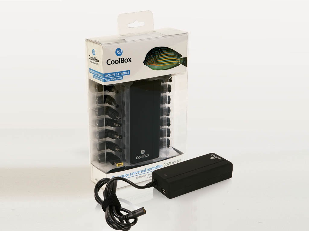CoolBox - Cargador Universal para Portátiles + USB: Coolbox ...