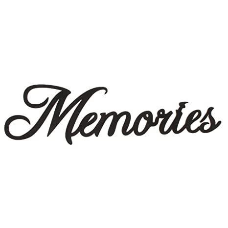 Memories Wooden Cutout Wooden Gift Sign for Home Wall Art DIY Party Decor