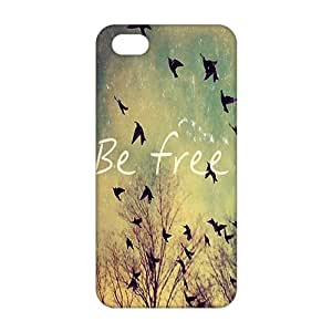 CCCM Be Free Birds 3D Phone Case for Iphone 6 plus 5.5