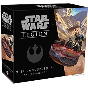 Fantasy Flight Games Sw Legion: X-34 Landspeeder, Multicolor