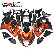 Sportfairings Motorcycle Fairing Kit For Suzuki GXS-R1300 GSX-R GSXR 1300 Hayabusa 2008 2009 2010 - 2014 2015 Fairings Injection ABS Orange Red Bike Cover