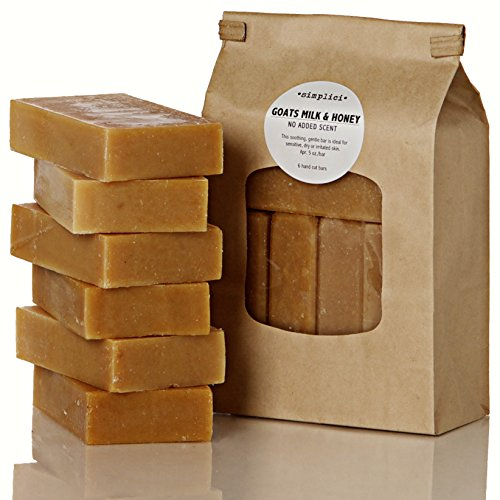 SIMPLICI-Goats-Milk-Honey-bar-soap-Value-Bag-6-Bars