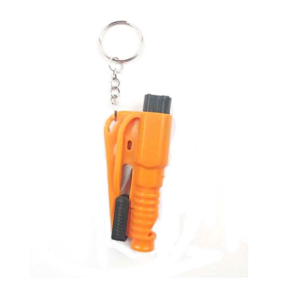 3 in 1 Martello emergenza martello di sicurezza per auto per emettere un fischio, rompere finestra e tagliare le cinture di sicurezza Generic