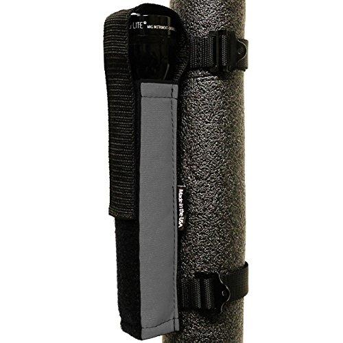 Bartact - Universal Roll Bar D-Cell Mag Flashlight Holder - Graphite