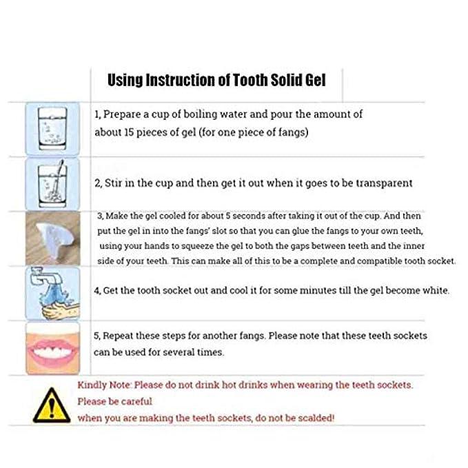 Non Per Riparazione Tellaboull Facile E Denti Temporanea For Da Adesivo Vuoti Finti Spazi Kit Di Solido Adesiva Protesi Tossico Utilizzare
