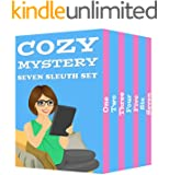 Cozy Mystery Seven Sleuth Set