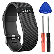 Auskic Fitbit Charge HR Band, Silicone Bracelet Replacement Accessories Strap for Fitbit Charge HR