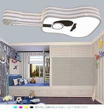BRFVCS Ceiling Light Moderne Und Stilvolle Cartoon Licht Gitarre Kinder  Zimmer Ist Modern Und Stilvoll,