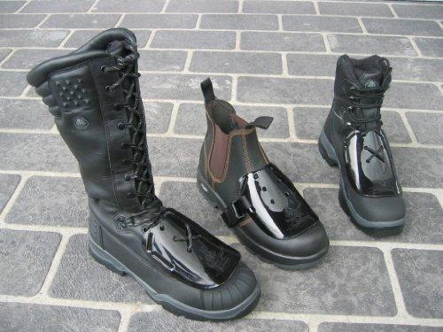 Impacto Kanga Tuff Metguard Safety Footwear Metatarsal Protection Attachment - 20pairs (1 Case) By Sena Safety by Sena Safety (Image #4)