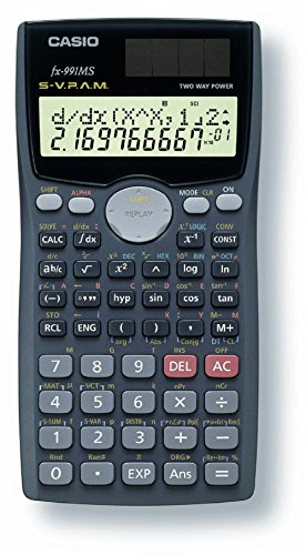Casio fx-991MS PLUS Scientific Calculator with 2-Line Display by Casio
