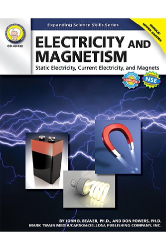 Electricity & Magnetism, Grades 6-12 by Carson-Dellosa